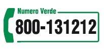 Numero Verde 800 13 12 12